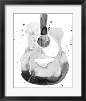 Framed Guitar Flow II