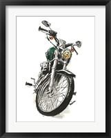 Framed Motorcycles in Ink I