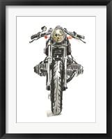 Framed Motorcycles in Ink II