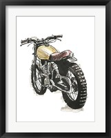 Framed Motorcycles in Ink III