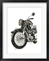 Framed Motorcycles in Ink IV