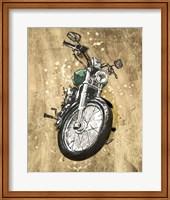 Framed Metallic Rider II