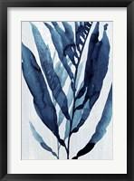 Framed Blue Drift I