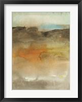 Framed Sky & Desert I