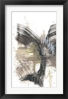 Framed Black, Gold & Taupe I