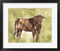 Framed Cow in the Field I
