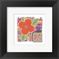 Framed Flower Power