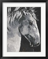 Framed Tribeca Horse I