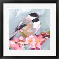Framed Brushstroke Bird II