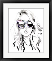 Framed Look into the Sun(Glasses) I