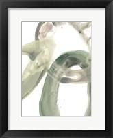 Framed Concentric Lichen V