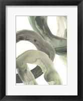 Framed Concentric Lichen VI