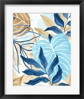 Framed Blue Jungle I