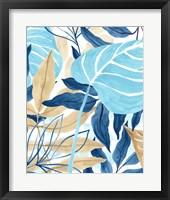 Framed Blue Jungle II
