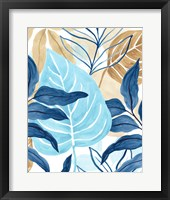 Framed Blue Jungle III