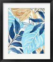 Framed Blue Jungle IV