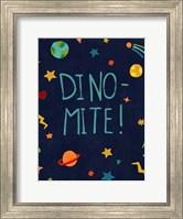 Framed Starry Dinos II