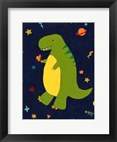 Framed Starry Dinos III