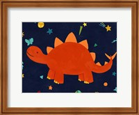 Framed Starry Dinos VI