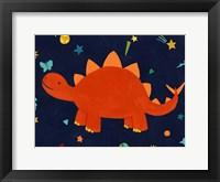 Framed Starry Dinos VI