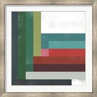 Framed Rainbow Prism I
