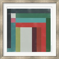 Framed Rainbow Prism VI