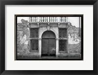 Framed Venice Facade I