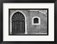Framed Venice Facade II