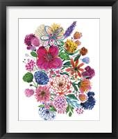 Framed Free Floral I