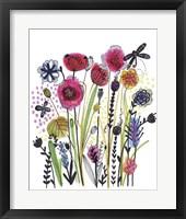 Framed Free Floral II