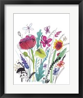 Framed Free Floral III