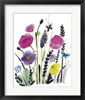 Framed Free Floral IV
