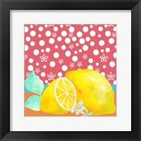 Framed Lemon Inspiration I