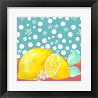 Framed Lemon Inspiration II