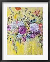 Framed Blooming in Sunshine III