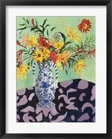 Framed Blooming in Sunshine IV