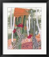 Framed Desert Flowers IV