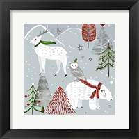 Framed Stars & Snowflakes III