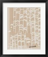 Framed Dry Grass I
