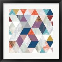 Framed Bright Mosaic I