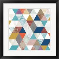 Framed Bright Mosaic II