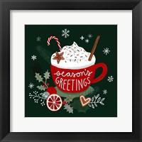 Christmas Comforts I Framed Print