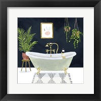 Framed Boho Bath I