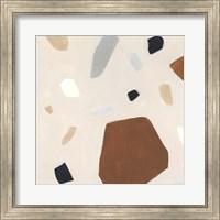 Framed Terrazzo Shards I