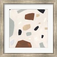 Framed Terrazzo Shards II