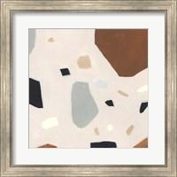Framed Terrazzo Shards IV