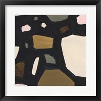 Framed Terrazzo Shards V