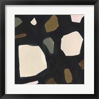 Framed Terrazzo Shards VII