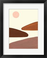 Framed Simple Scape I