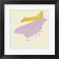 Framed Lemon & Lilac I
